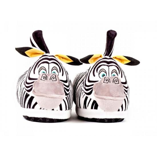 Madagascar zebra Marty pantoffels voor volwassenen