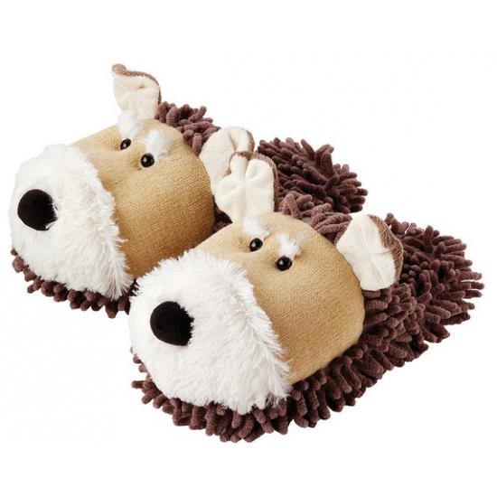 Warme honden pantoffeltjes