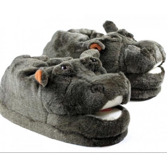 Zachte dieren pantoffels nijlpaard