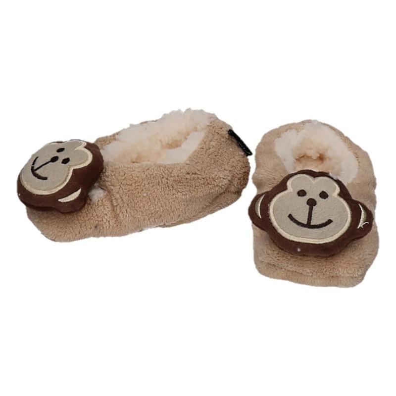 Cadeau kinderslofjes/pantoffels aap