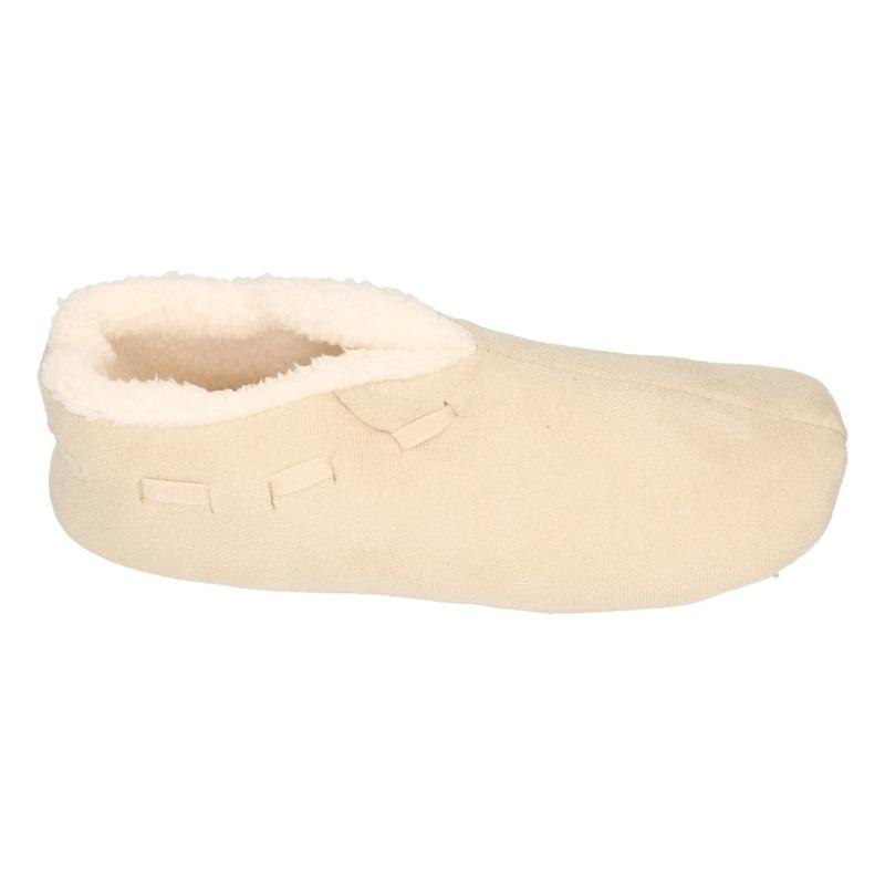 3709acb16a7e61 Internetwinkel-expert.nl - Dames Spaanse sloffen/pantoffels creme wit