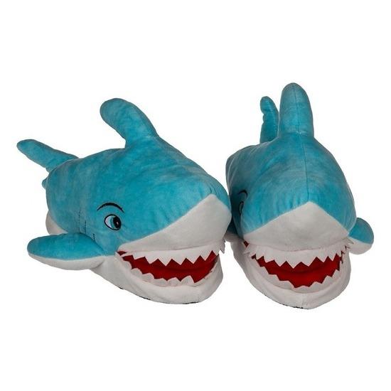 Haaien sloffen voor volwassenen