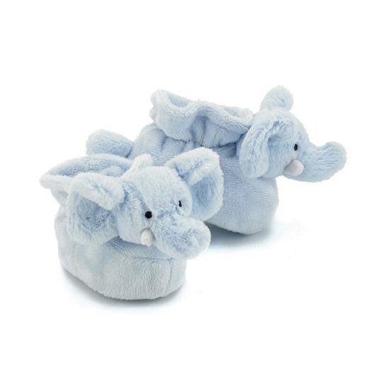 Jellycat baby slofjes olifant