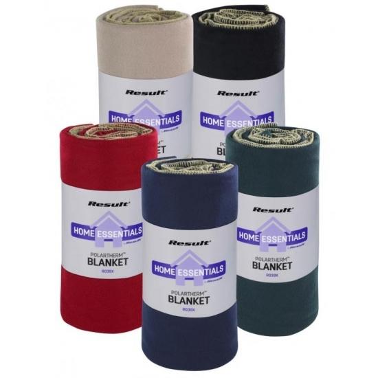 Luxe woonplaid/bankdeken van fleece