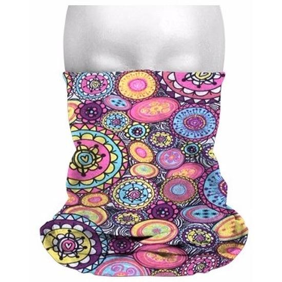 Morph sjaal hippie print