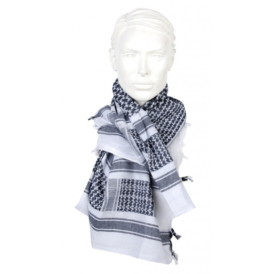 Palestijnse sjaal zwart wit