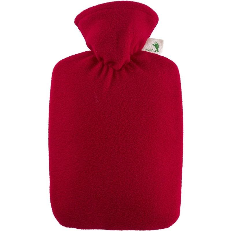 Rode waterkruik 1,8 liter met fleece hoes