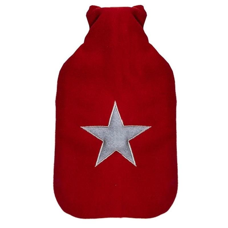 Sterretjes kruik rood met grijs 2 liter