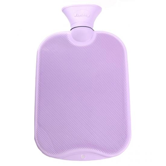 Warm water kruik lila 2 L