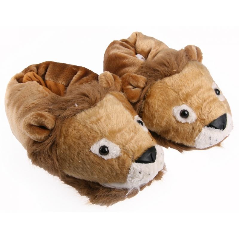 Lion Animaux Alex Pantoufles Pour Adultes cOANFgLJ