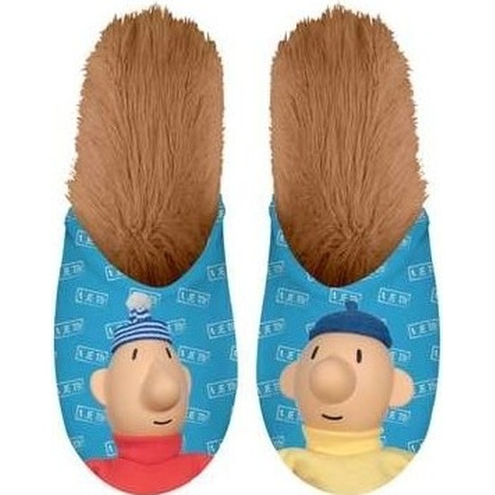 Buurman en Buurman instap sloffen/pantoffels voor kinderen Pat en Mat