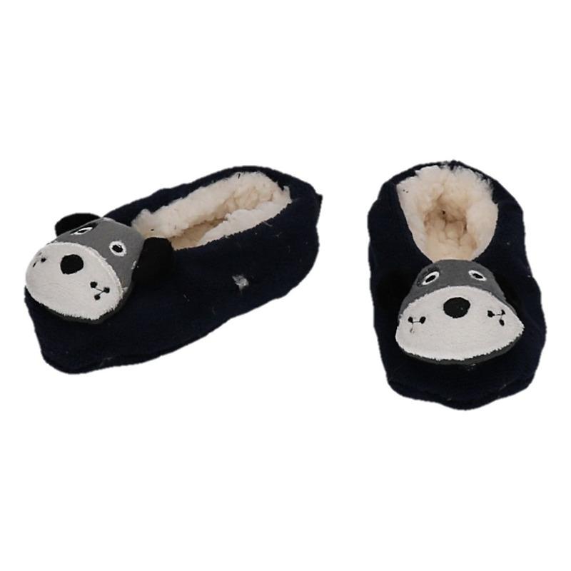 Cadeau kinderslofjes/pantoffels hond
