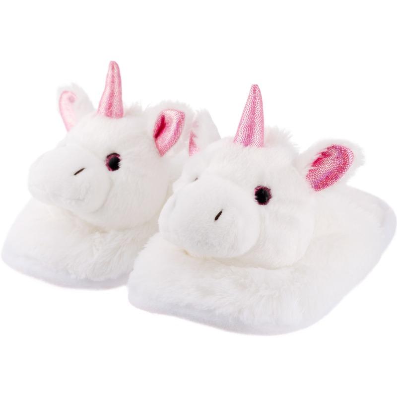 Eenhoorns instap sloffen/pantoffels voor kinderen