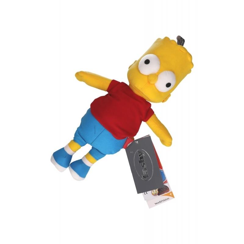 Kado warmte knuffel van Bart Simpson