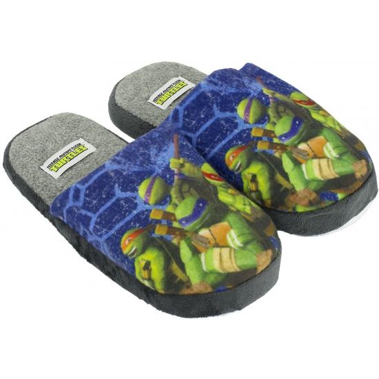 Kindersloffen van Turtles blauw