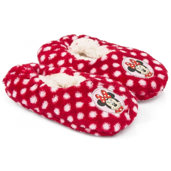 Minnie Mouse sloffen rood voor meiden
