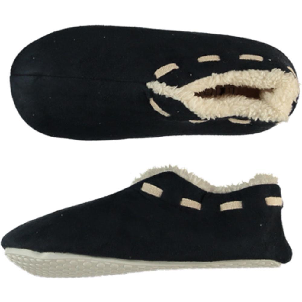 Navy blauwe Spaanse pantoffels/sloffen voor jongens/meisjes