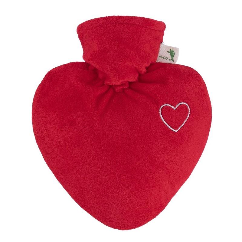 Rood hart kruik 1 liter eco plastic