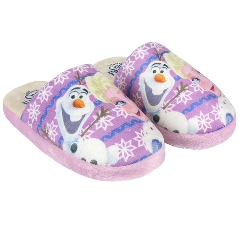 Roze Frozen open pantoffels voor meisjes