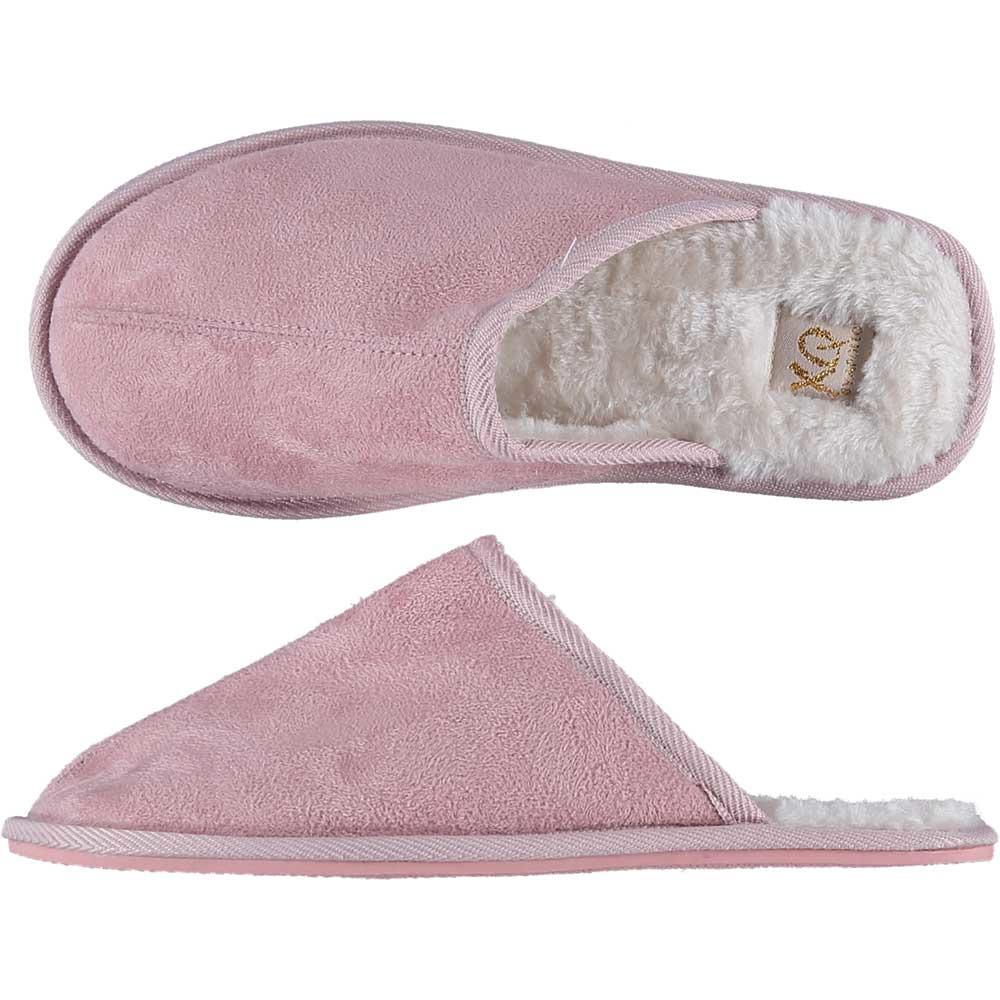 Roze instap pantoffels/sloffen voor dames