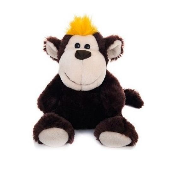 Warm knuffel aap babyshower kado 18 cm