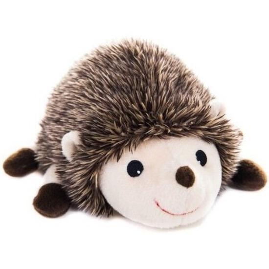 Warm knuffel egel babyshower kado 18 cm
