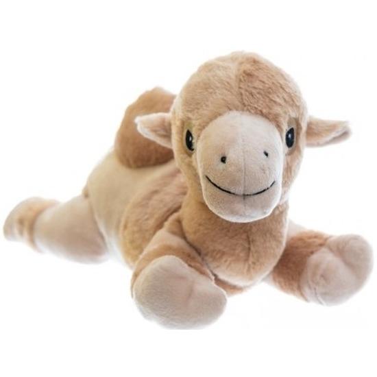 Warm knuffel kameel babyshower kado 18 cm