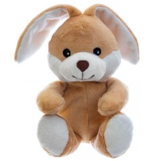 Warm knuffel konijn babyshower kado 23 cm
