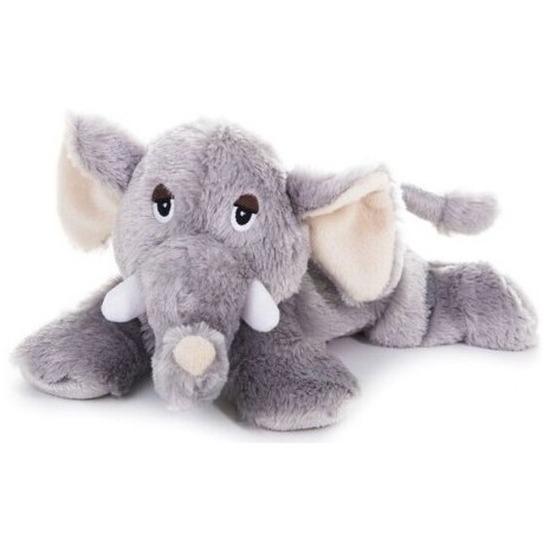 Warm knuffel olifant babyshower kado 18 cm
