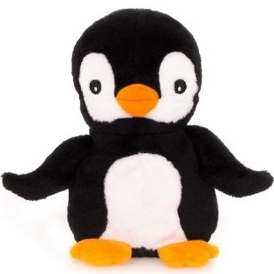 Warm knuffel pinguin babyshower kado 13 cm