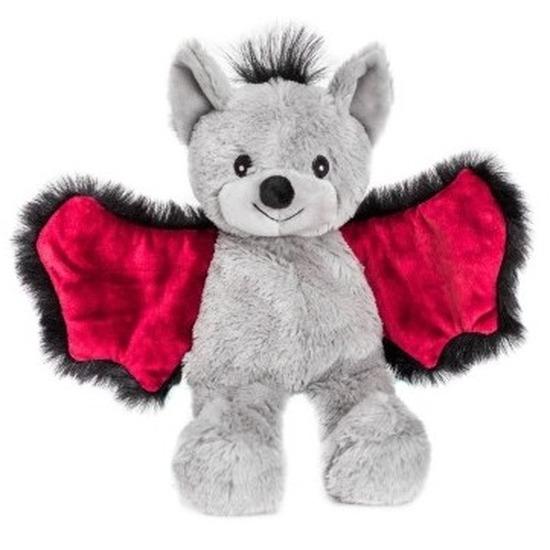 Warm knuffel vleermuis babyshower kado 18 cm