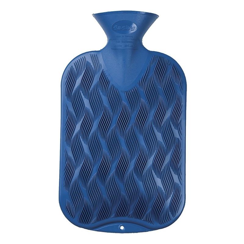 Warm water kruiken blauw 2 liter