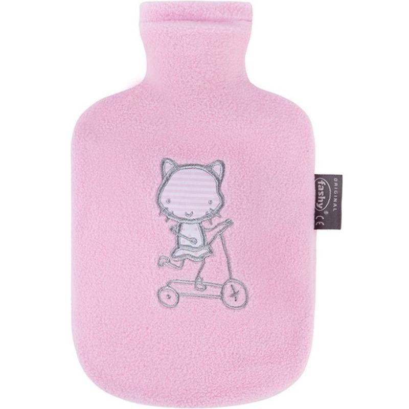 Warm water kruiken hoes poes/kat 0,8 liter