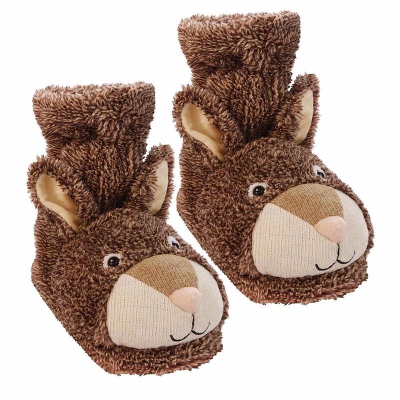 Warme huissokken konijn