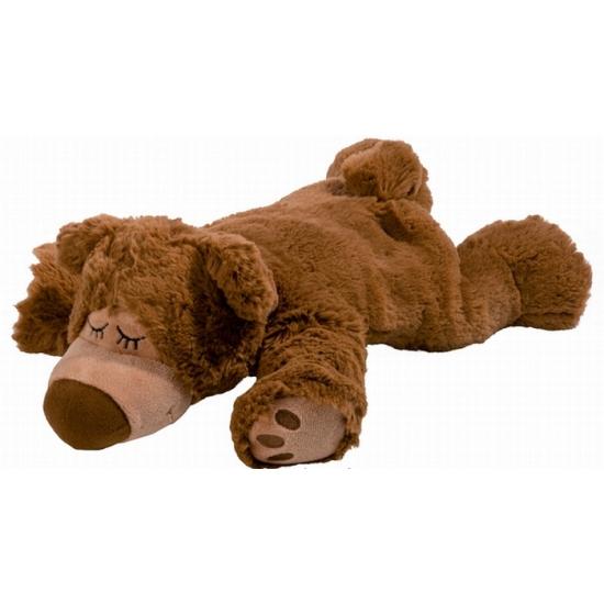 Warmteknuffel beer bruin 32 cm knuffels kopen