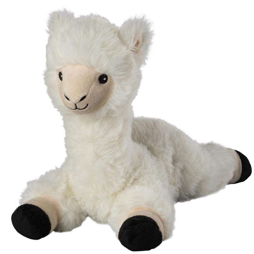 Warmteknuffel lama/alpaca wit 37 cm knuffels kopen