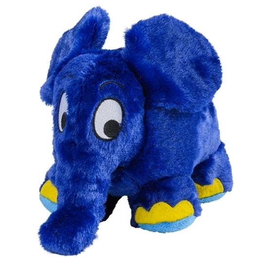 Warmteknuffel olifant blauw 29 cm knuffels kopen