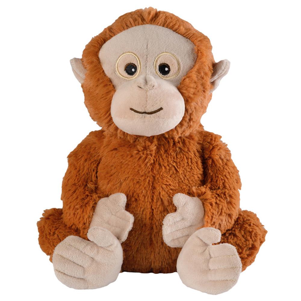 Warmteknuffel orang oetan bruin 33 cm knuffels kopen