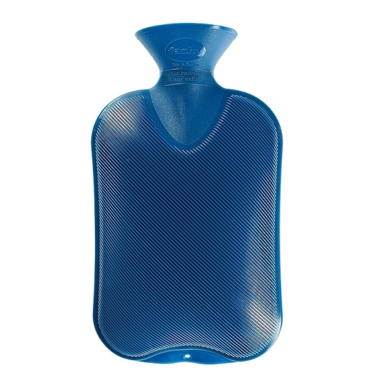 Warmtekruik blauw 2 liter