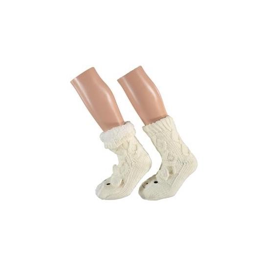 Witte beer sokken voor kinderen